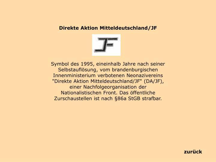 Direkte Aktion Mitteldeutschland/JF