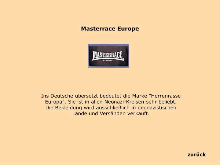 Masterrace