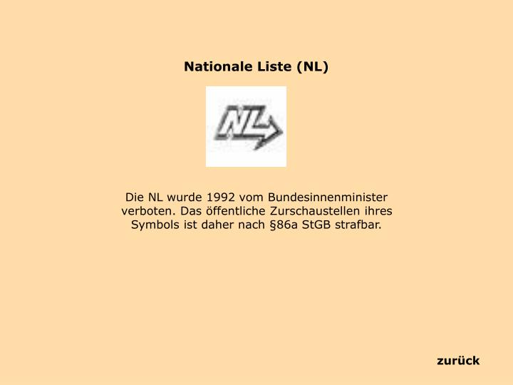 Nationale Liste (NL)