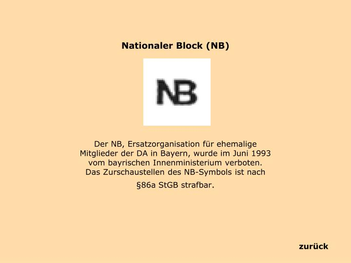 Nationaler Block (NB)