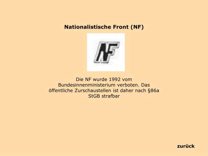 Nationalistische Front (NF)
