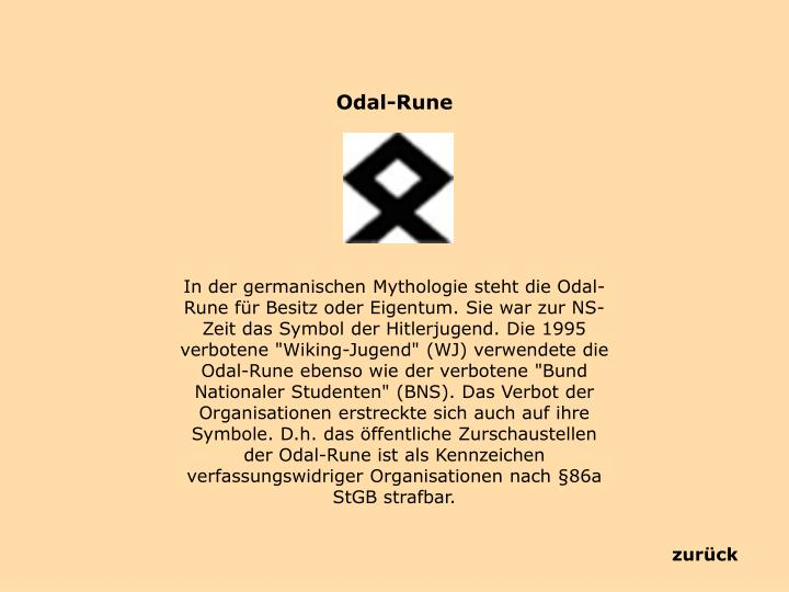 Odal-Rune