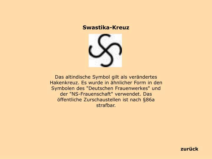 Swastika-Kreuz