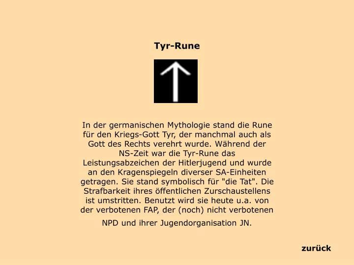 Tyr-Rune
