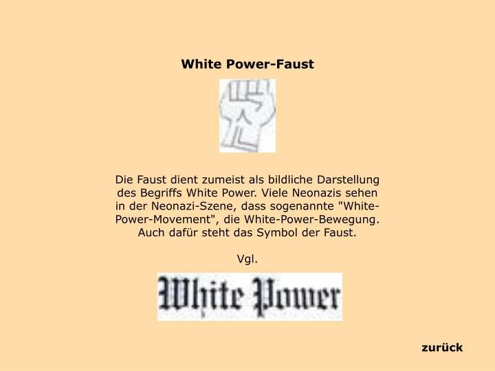 White Power-Faust