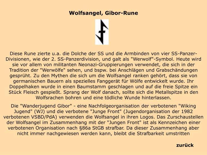 Wolfsangel,