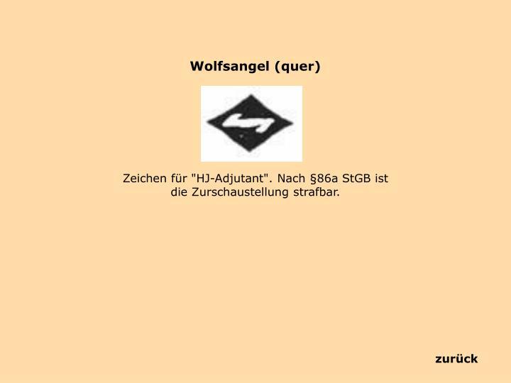 Wolfsangel (quer)