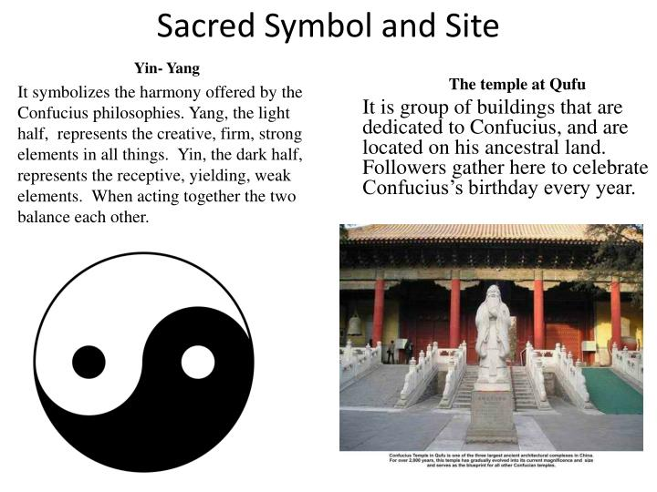 Sacred Symbol and Site