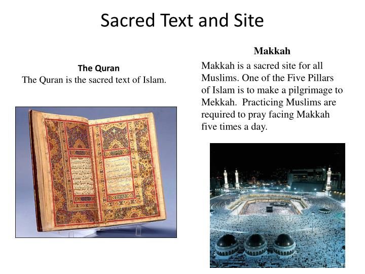 Sacred Text and Site
