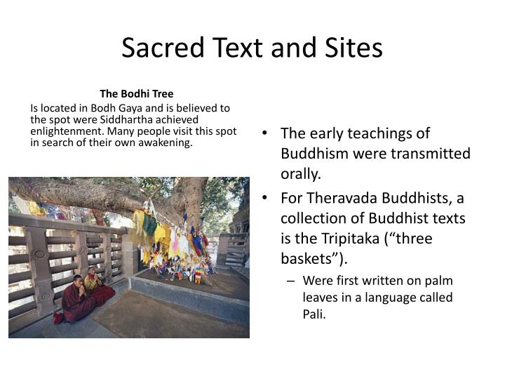 Sacred Text and Sites