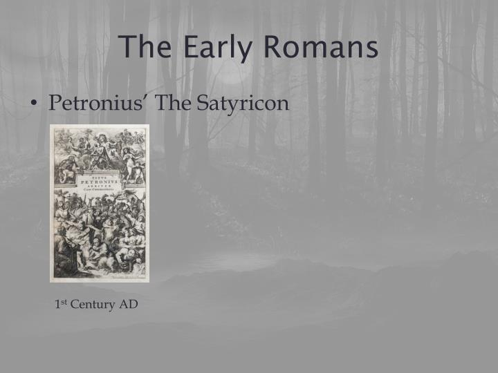 The early romans