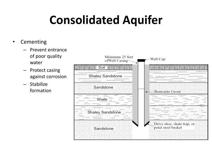 Consolidated Aquifer