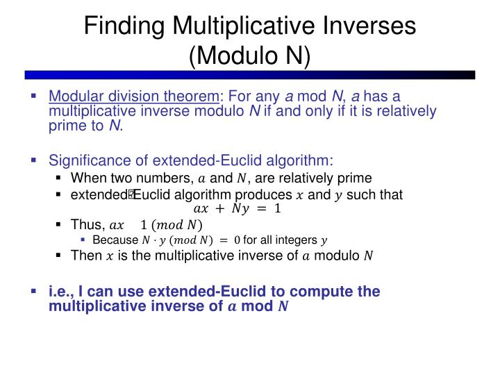 Finding Multiplicative