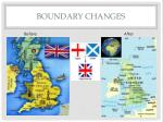 boundary changes