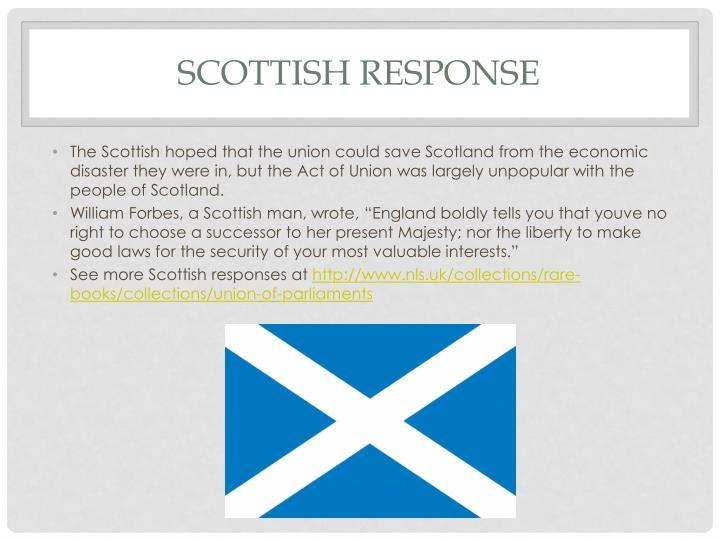 Scottish Response