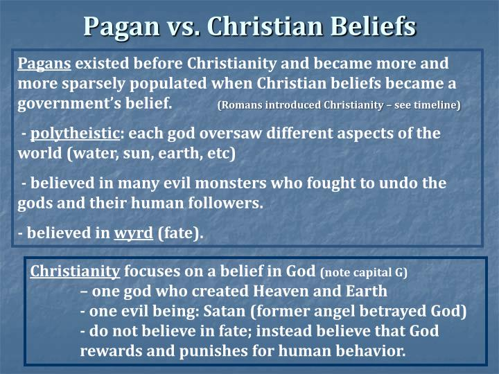"paganism vs christianity Pagans explores the rise of christianity from a surprising and unique  to  themselves as such and to some extent the entire ""pagans versus christians""  thing."