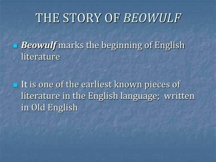 anglo saxon beliefs portrayed in beowulfs story Symbolism in beowulf to reinforce the importance of religion and the values of the anglo saxons - literature all through history uses symbolism to portray different ideas, religions, and beliefs throughout beowulf symbolism is used both to reinforce the importance of religion and to impress the values of the anglo saxons upon the reader.