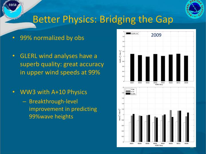 Better Physics: Bridging the Gap