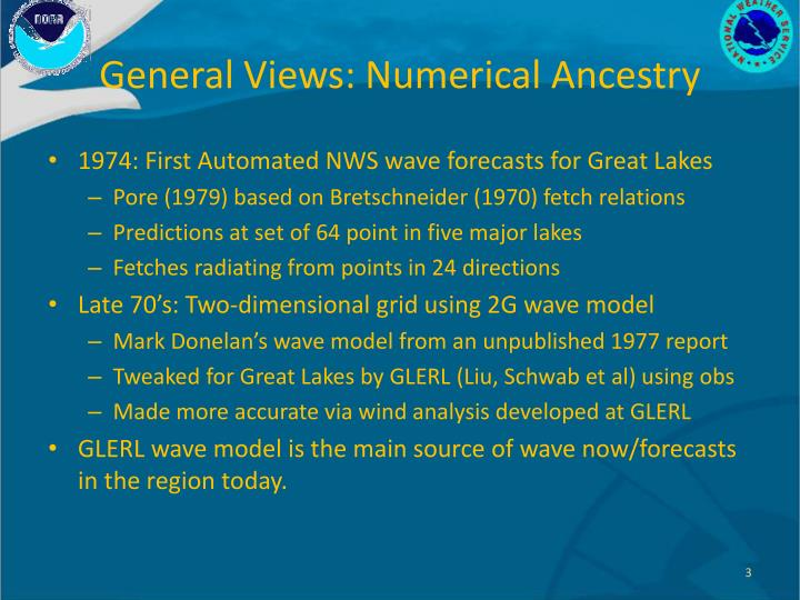 General Views: Numerical Ancestry