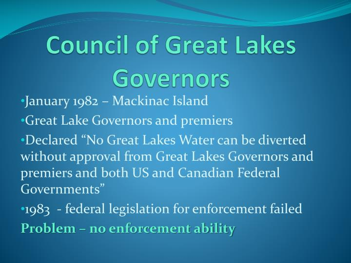 Council of Great Lakes Governors