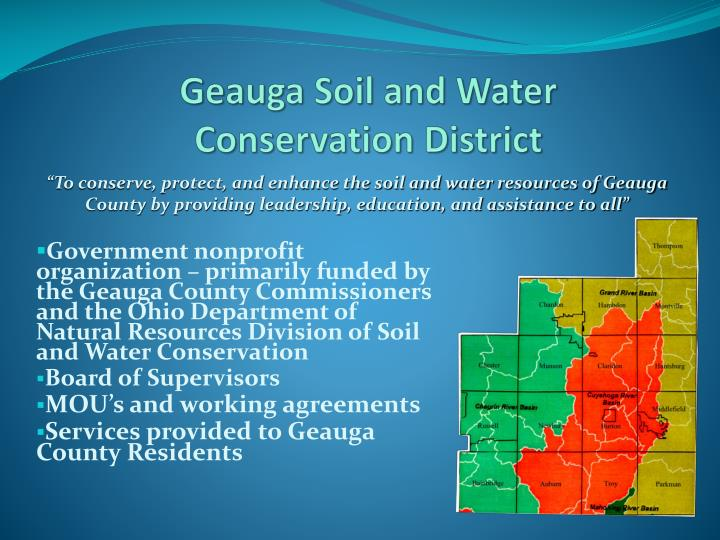 Geauga Soil and Water