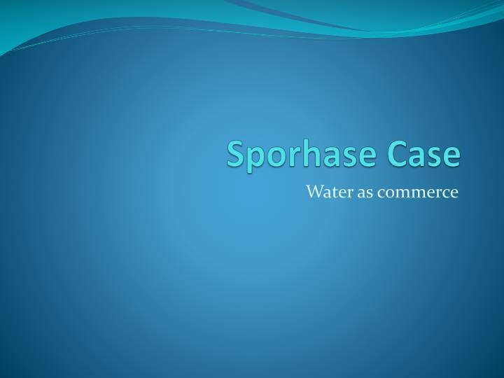 Sporhase