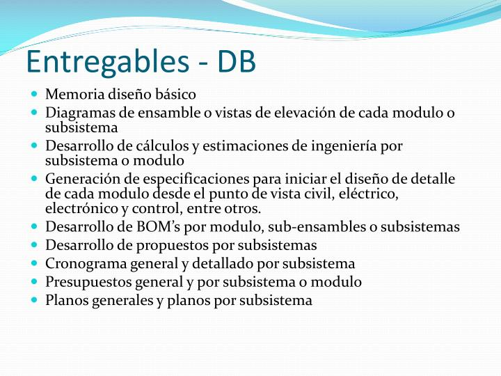 Entregables - DB