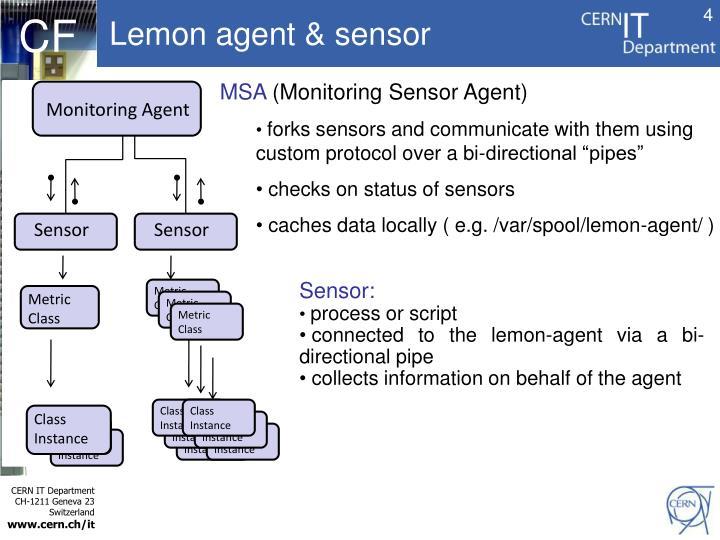 Lemon agent & sensor