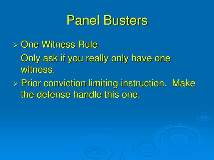 Panel Busters