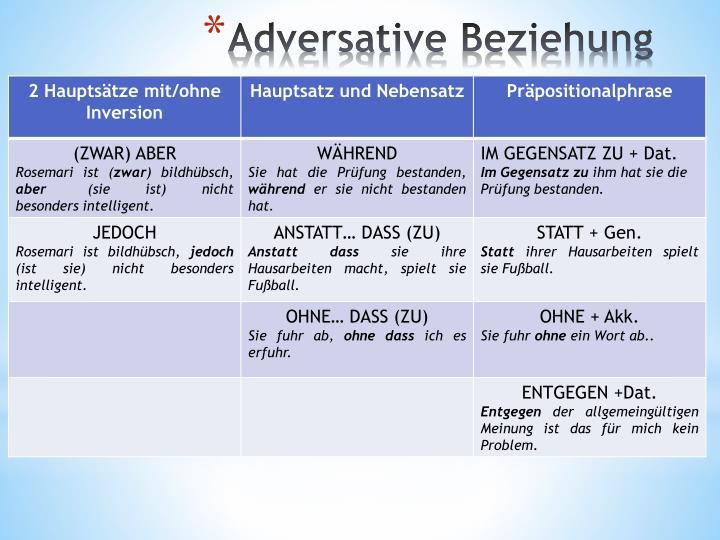 Adversative