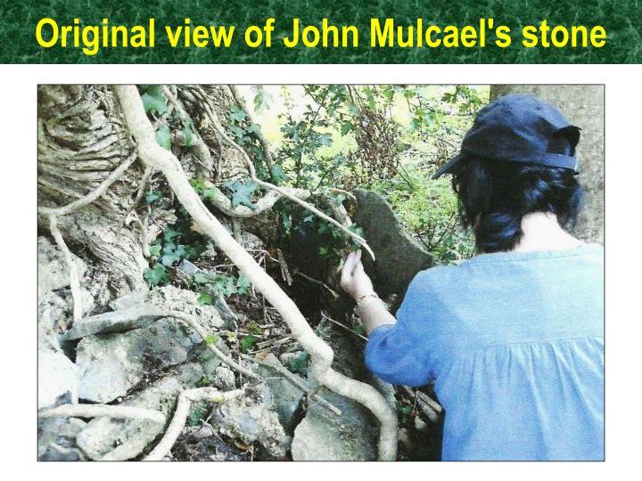 Original view of John