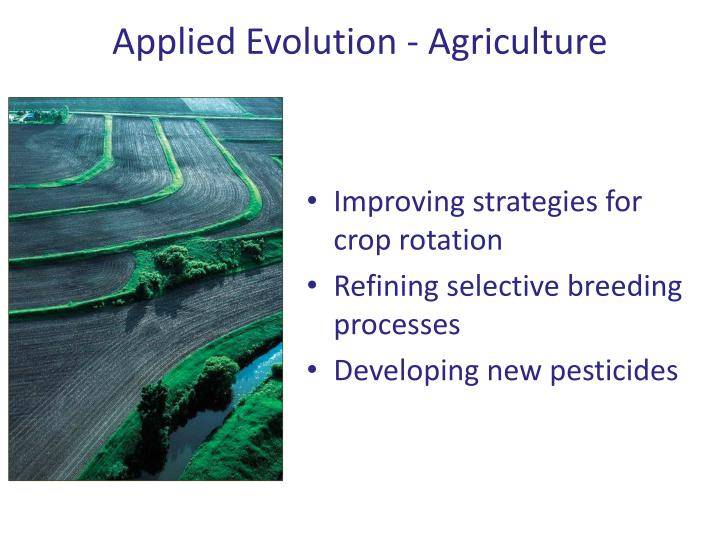 Applied Evolution - Agriculture