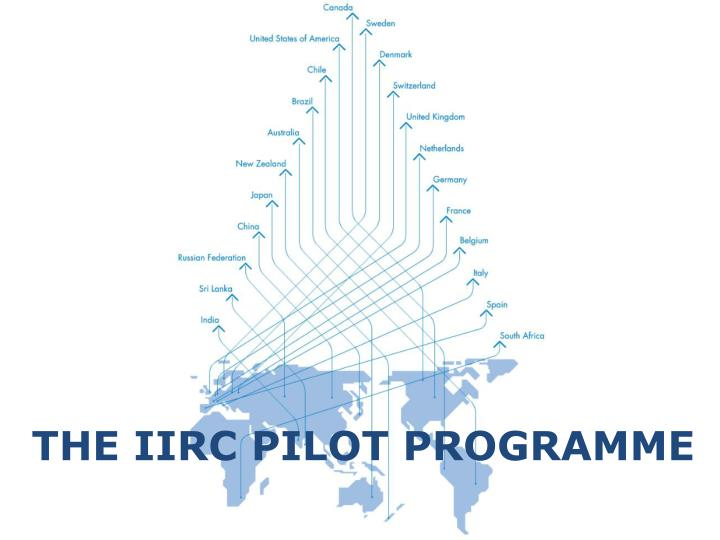 THE IIRC PILOT PROGRAMME