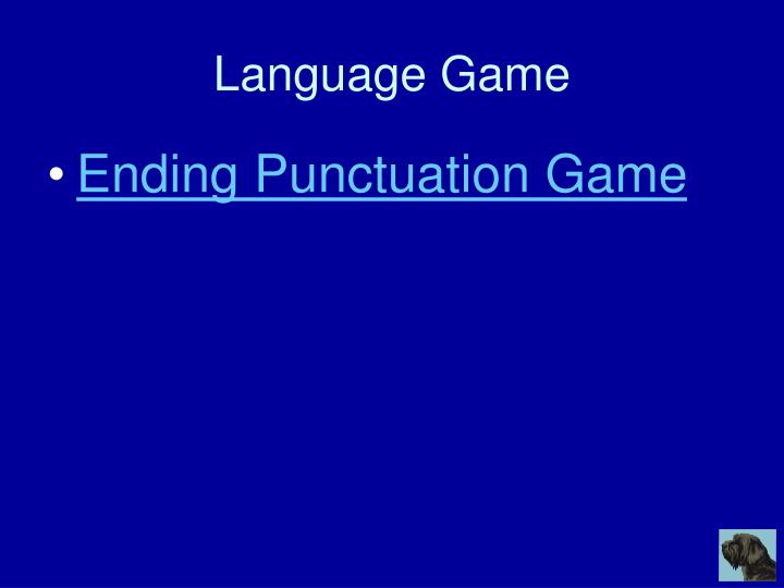Language Game