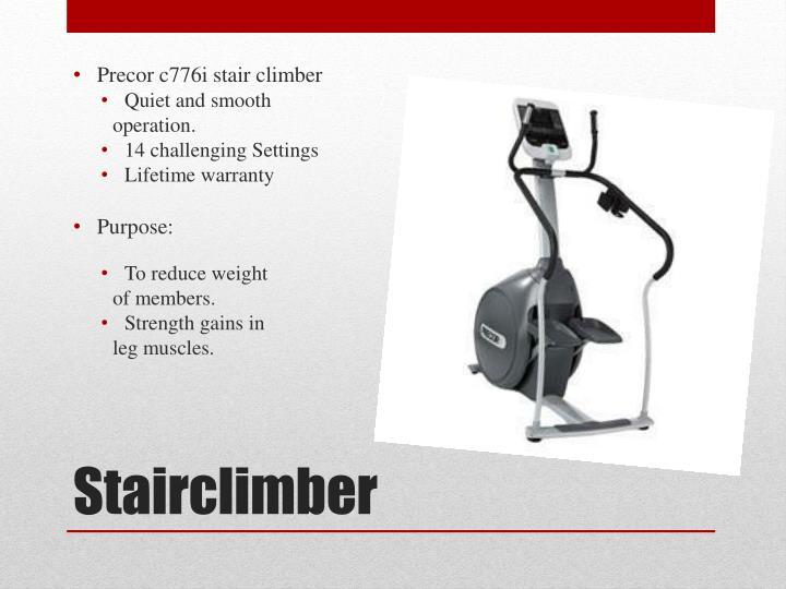 Precor c776i stair climber