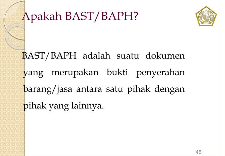 Apakah BAST/BAPH?