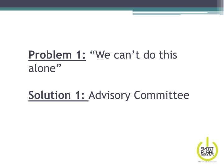 Problem 1: