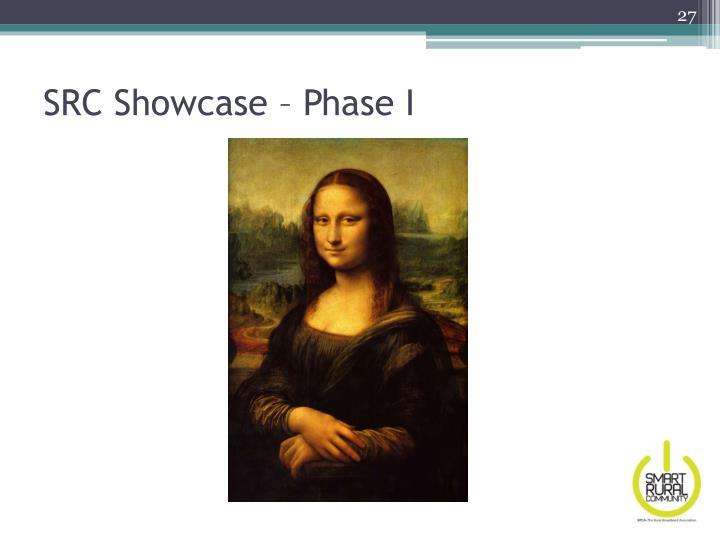 SRC Showcase – Phase I