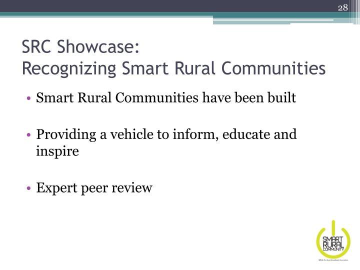 SRC Showcase: