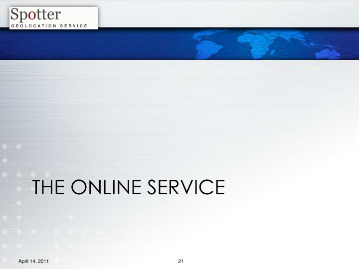 The Online service