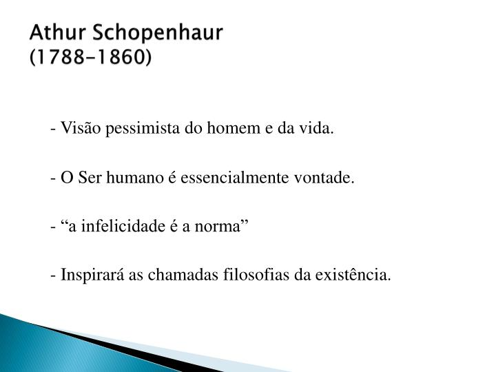 Athur Schopenhaur