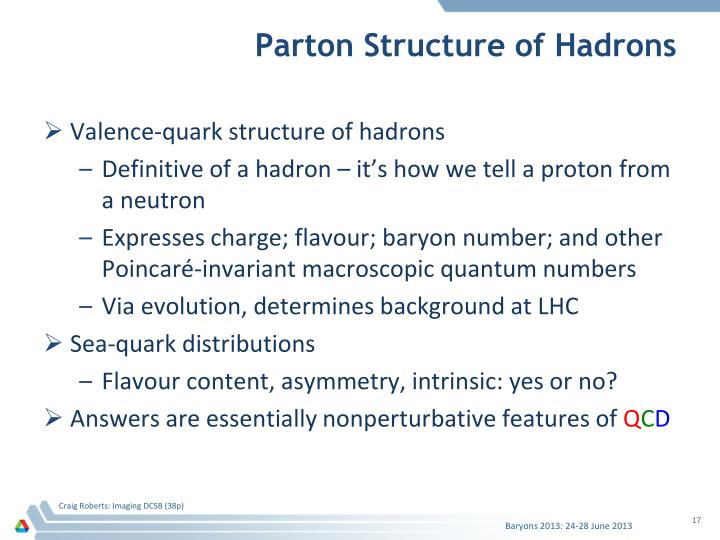 Parton Structure of Hadrons