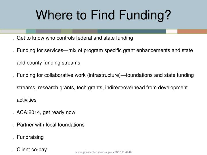 Where to Find Funding?