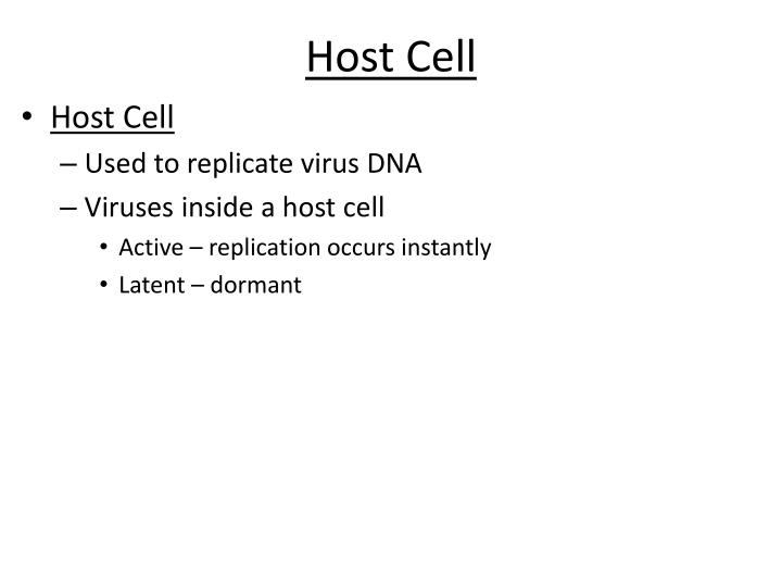 Host Cell