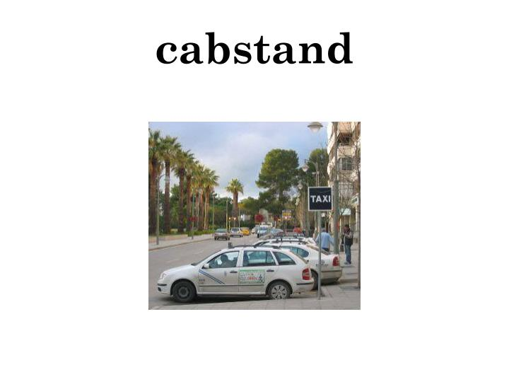 cabstand