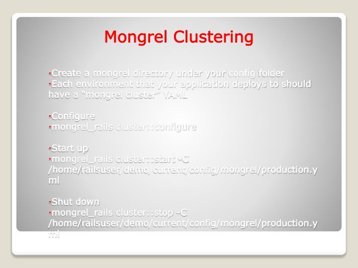 Mongrel Clustering