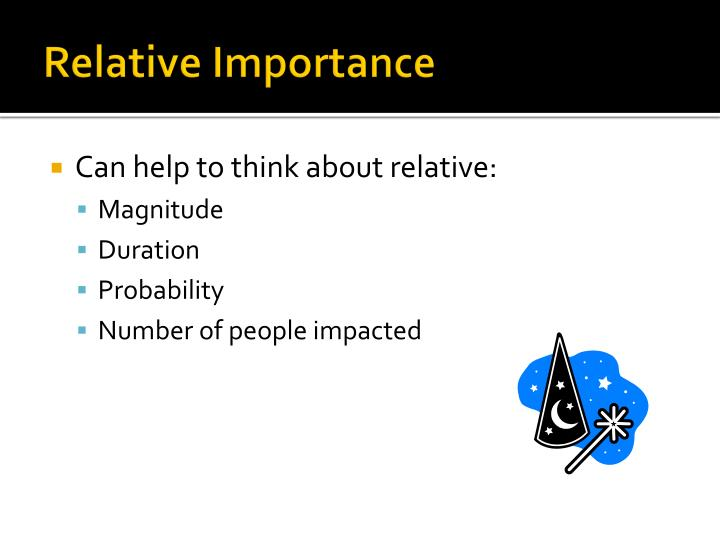 Relative Importance