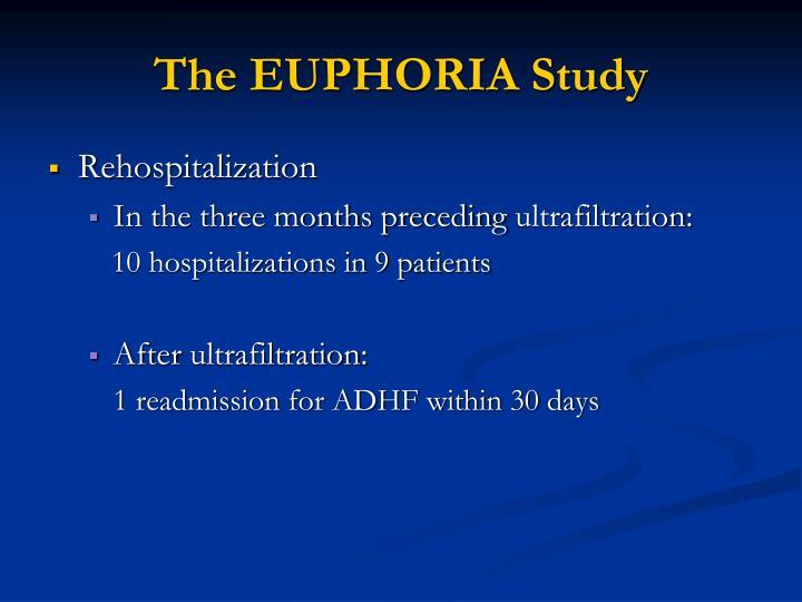 The EUPHORIA Study