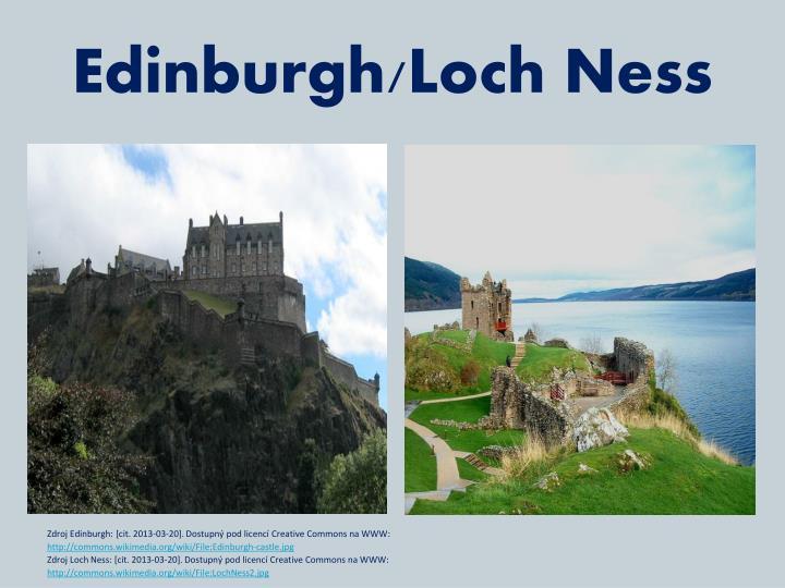 Edinburgh/Loch Ness