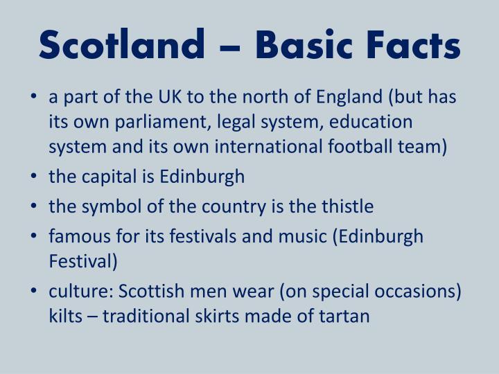 Scotland – Basic